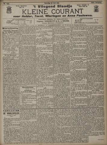 Vliegend blaadje : nieuws- en advertentiebode voor Den Helder 1906-07-28