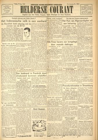 Heldersche Courant 1949-08-19