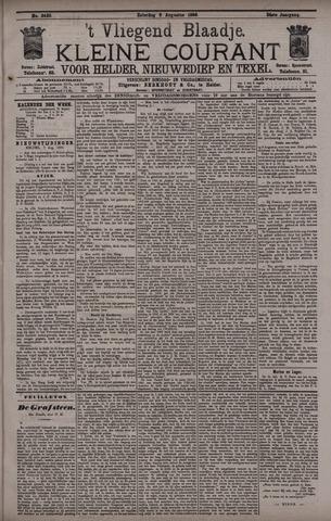 Vliegend blaadje : nieuws- en advertentiebode voor Den Helder 1896-08-08