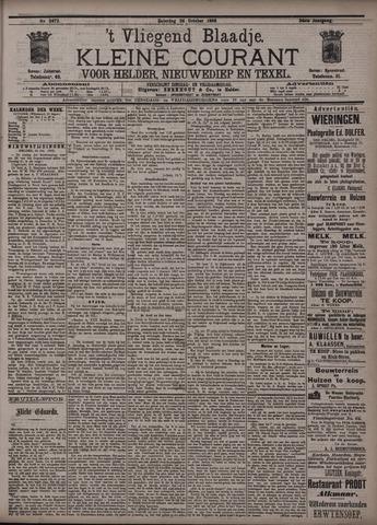 Vliegend blaadje : nieuws- en advertentiebode voor Den Helder 1896-10-24