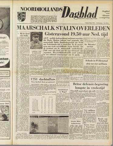 Noordhollands Dagblad : dagblad voor Alkmaar en omgeving 1953-03-06