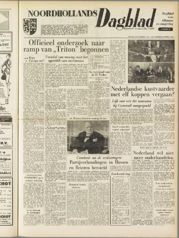 Noordhollands Dagblad : dagblad voor Alkmaar en omgeving 1954-11-30