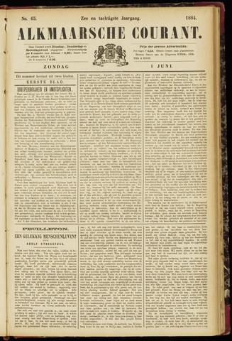 Alkmaarsche Courant 1884-06-01