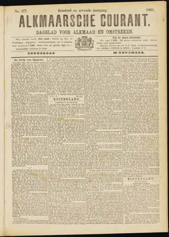 Alkmaarsche Courant 1905-11-16