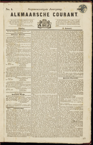 Alkmaarsche Courant 1867-01-06