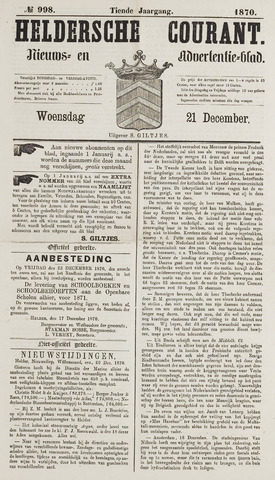 Heldersche Courant 1870-12-21