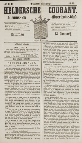 Heldersche Courant 1872-01-13