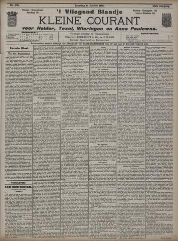 Vliegend blaadje : nieuws- en advertentiebode voor Den Helder 1908-10-24
