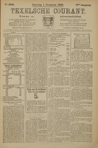 Texelsche Courant 1923-12-01