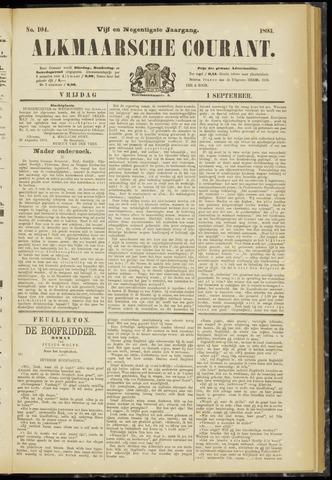 Alkmaarsche Courant 1893-09-01