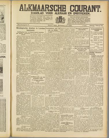 Alkmaarsche Courant 1941-02-01