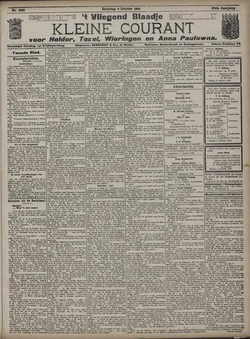 Vliegend blaadje : nieuws- en advertentiebode voor Den Helder 1909-10-09