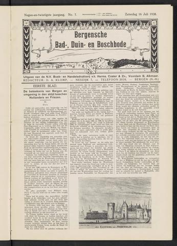 Bergensche bad-, duin- en boschbode 1938-07-16