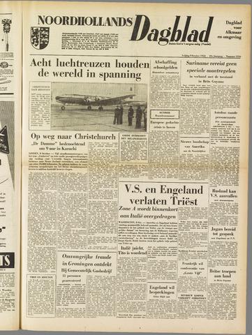 Noordhollands Dagblad : dagblad voor Alkmaar en omgeving 1953-10-09