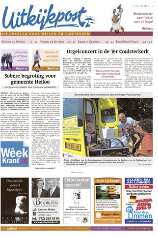 Uitkijkpost : nieuwsblad voor Heiloo e.o. 2009-09-23