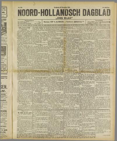 Ons Blad : katholiek nieuwsblad voor N-H 1922-11-30