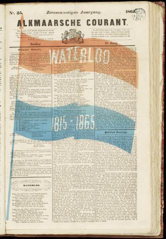 Alkmaarsche Courant 1865-06-18