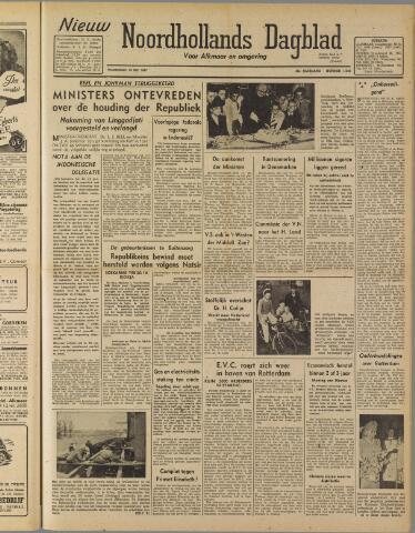 Nieuw Noordhollandsch Dagblad : voor Alkmaar en omgeving 1947-05-28