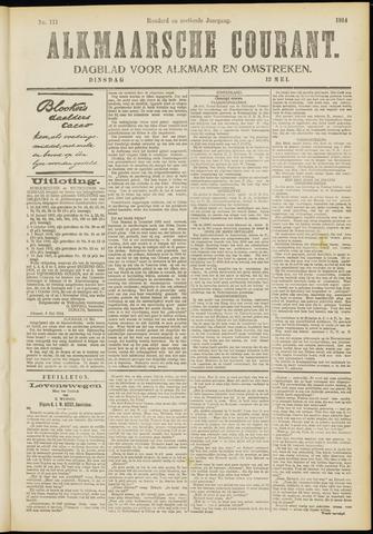 Alkmaarsche Courant 1914-05-12