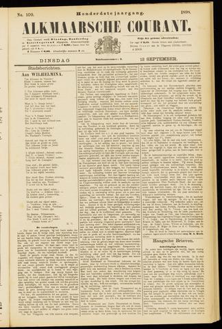 Alkmaarsche Courant 1898-09-13
