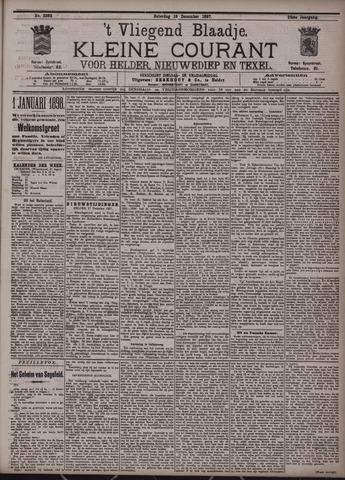 Vliegend blaadje : nieuws- en advertentiebode voor Den Helder 1897-12-18