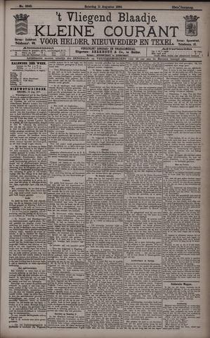 Vliegend blaadje : nieuws- en advertentiebode voor Den Helder 1894-08-11