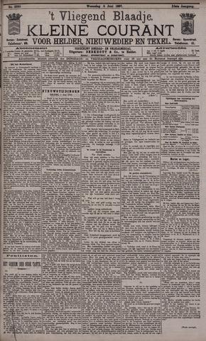 Vliegend blaadje : nieuws- en advertentiebode voor Den Helder 1897-06-02