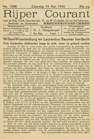 Rijper Courant 1945-05-19