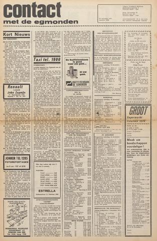Contact met de Egmonden 1971-12-15