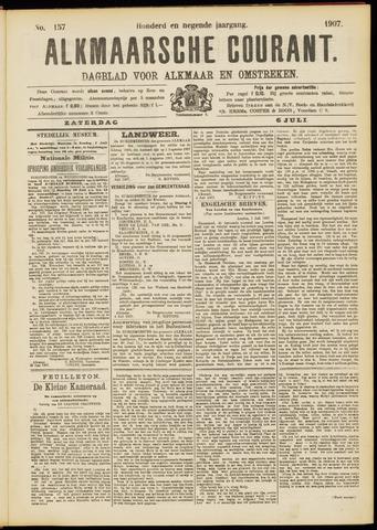 Alkmaarsche Courant 1907-07-06