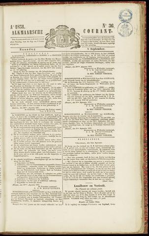 Alkmaarsche Courant 1851-09-08
