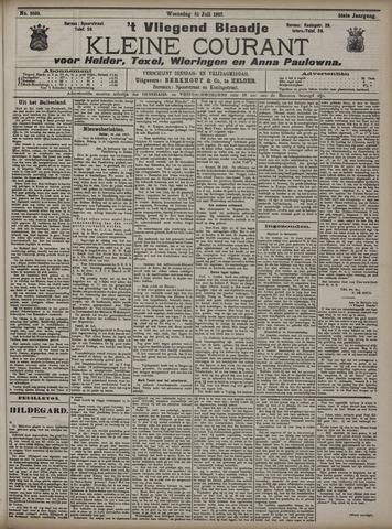 Vliegend blaadje : nieuws- en advertentiebode voor Den Helder 1907-07-31