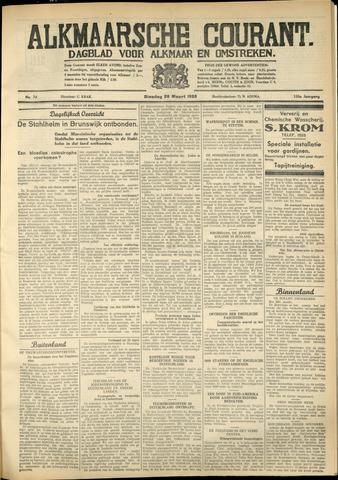 Alkmaarsche Courant 1933-03-28