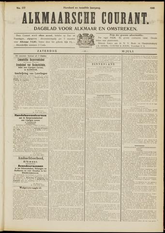 Alkmaarsche Courant 1910-07-30