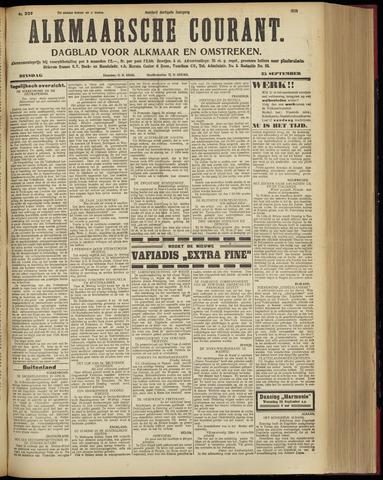 Alkmaarsche Courant 1928-09-25