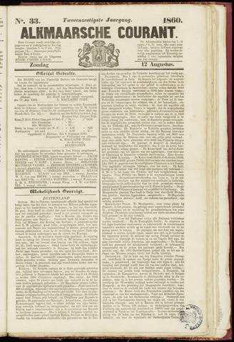 Alkmaarsche Courant 1860-08-12