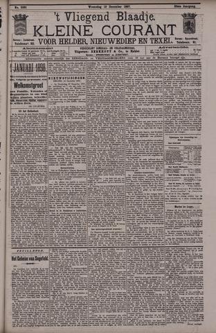 Vliegend blaadje : nieuws- en advertentiebode voor Den Helder 1897-12-15