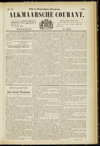 Alkmaarsche Courant 1893-05-24