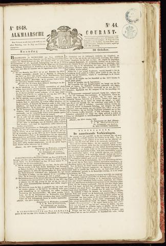 Alkmaarsche Courant 1848-10-30
