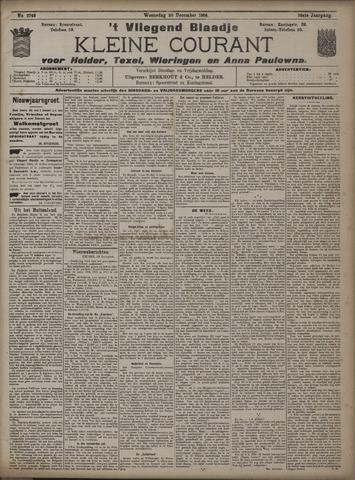 Vliegend blaadje : nieuws- en advertentiebode voor Den Helder 1908-12-30