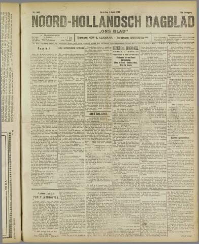 Ons Blad : katholiek nieuwsblad voor N-H 1922-04-01