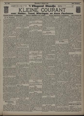 Vliegend blaadje : nieuws- en advertentiebode voor Den Helder 1910-01-19