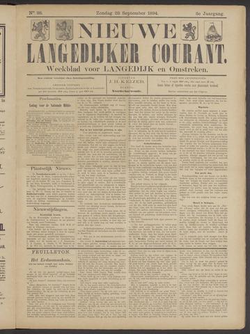 Nieuwe Langedijker Courant 1894-09-23