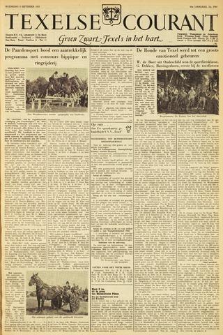 Texelsche Courant 1953-09-09