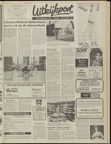 Uitkijkpost : nieuwsblad voor Heiloo e.o. 1985-02-20