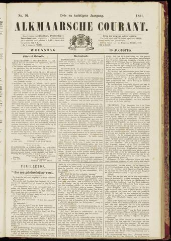Alkmaarsche Courant 1881-08-10