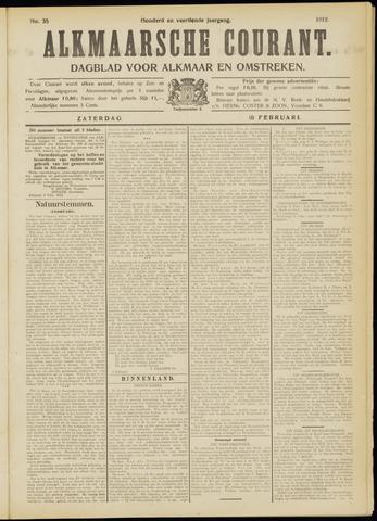 Alkmaarsche Courant 1912-02-10
