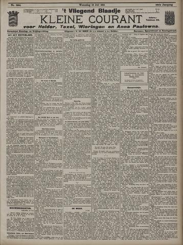 Vliegend blaadje : nieuws- en advertentiebode voor Den Helder 1910-07-13