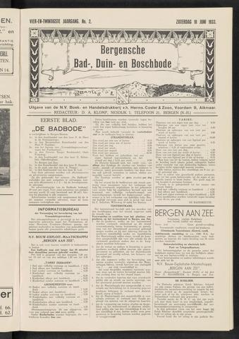 Bergensche bad-, duin- en boschbode 1933-06-10