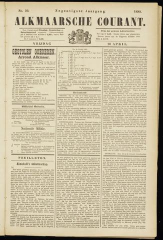 Alkmaarsche Courant 1888-04-20